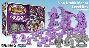 Super Dungeon Explore : Von Drakk Manor Level Box